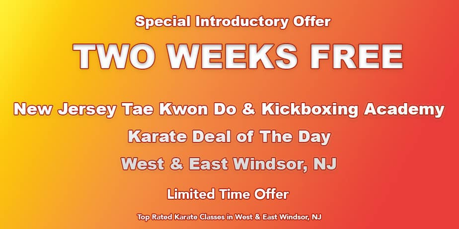 Why kids should take martial arts? West Windsor, NJ